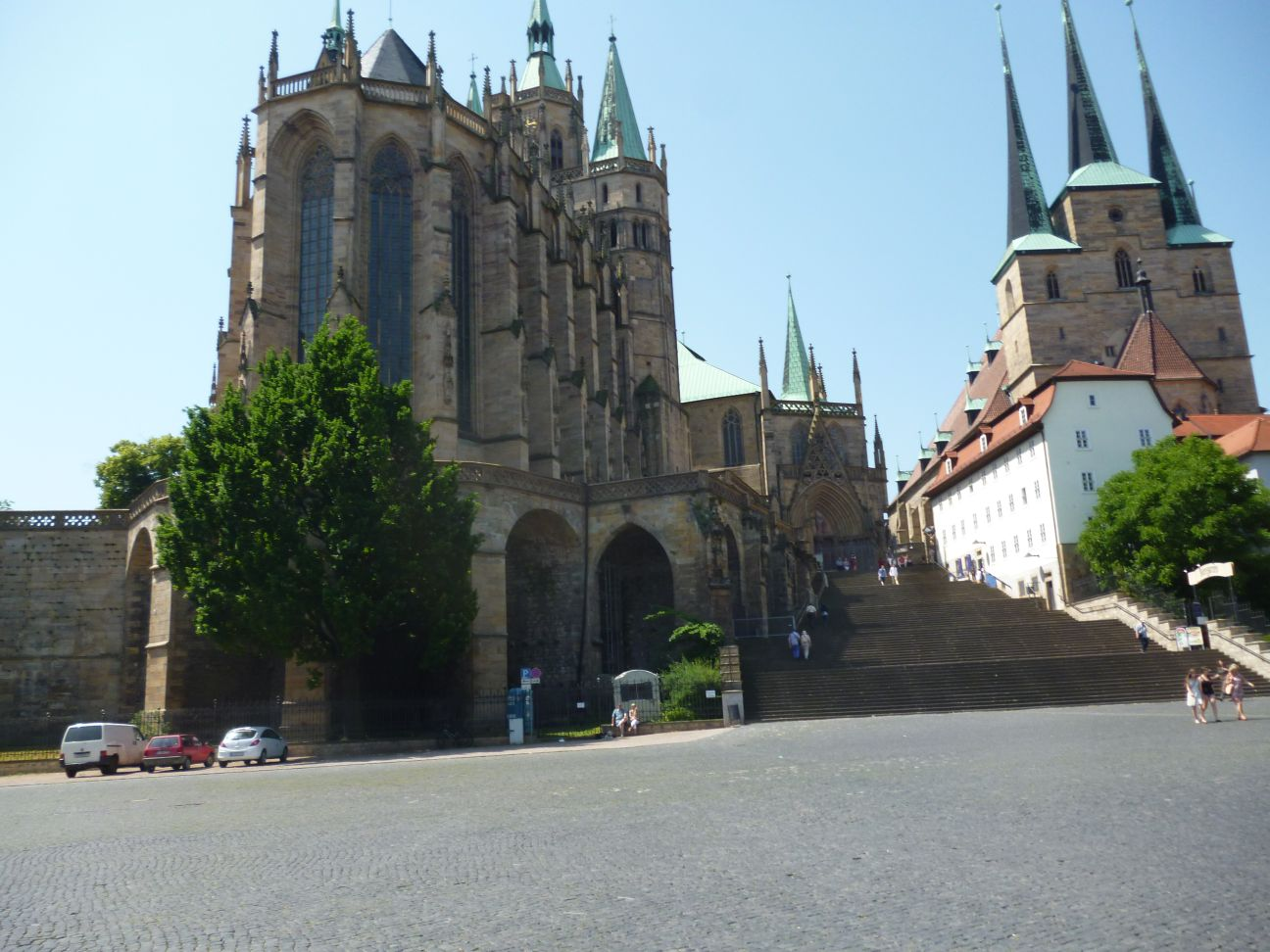 Kathedrale in Erfurt